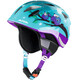 Alpina Ximo Flash Winter - Casco de bicicleta Niños - violeta/Turquesa